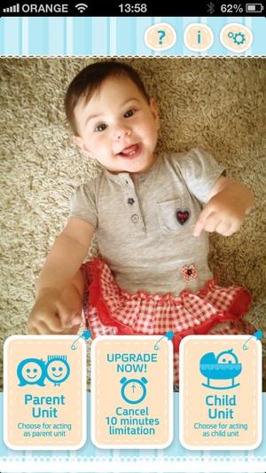 Screenshot My Baby Monitor on iPhone