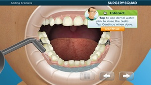 Screenshot Virtual Braces on iPhone
