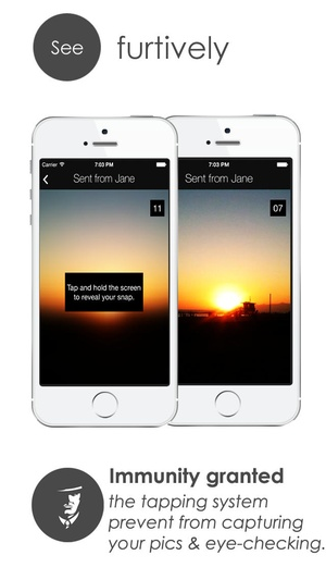 Screenshot Private Chat : Send Secret Text Messages, Photos, Videos on iPhone