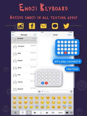 Screenshot Animated Emoji Pro & Emoticon Keyboard Art on iPad