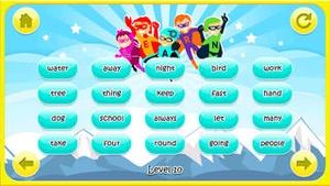 Screenshot Superhero Sight Words on iPhone