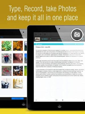 Screenshot Super Notes on iPad