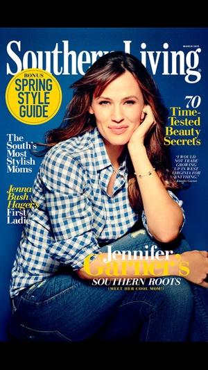 Screenshot SOUTHERN LIVING Magazine on iPhone