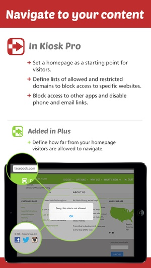 Screenshot Kiosk Pro on iPhone