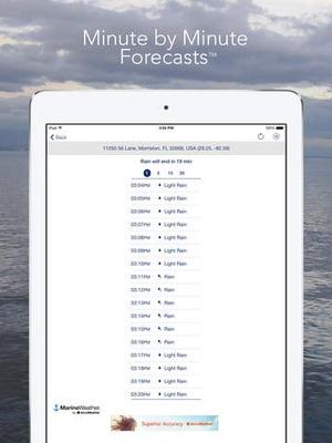 Screenshot Marine Weather by AccuWeather on iPad