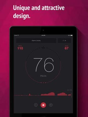 Screenshot dB Meter on iPad