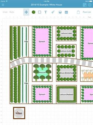 Screenshot Grow Planner (Mother Earth News) on iPad