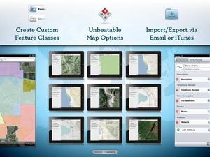 Screenshot GIS Kit on iPad