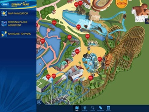 Screenshot Europa on iPad