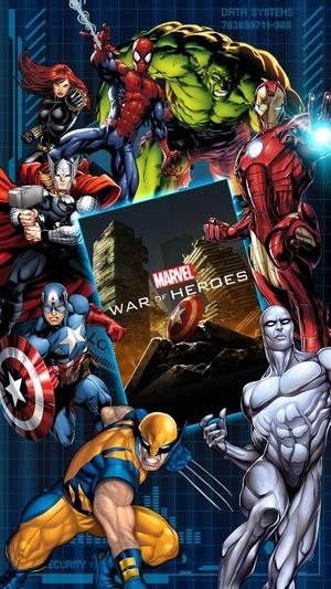 Screenshot MARVEL War of Heroes on iPhone