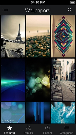 Screenshot ZEDGE™ Ringtones & Wallpapers on iPhone