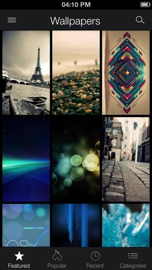 Screenshot ZEDGE™ Ringtones & Wallpapers on iPhone