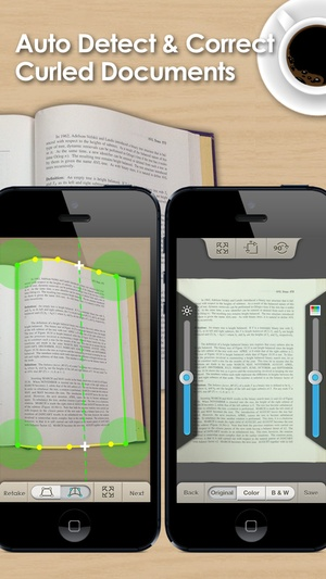 Screenshot Doc Scan on iPhone