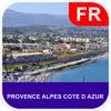 Provence Alpes Cote D Azur Map