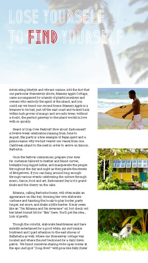 Screenshot Vacation Rental Magazine on iPhone