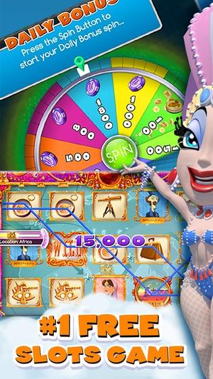 Screenshot myVEGAS Slots  on iPhone