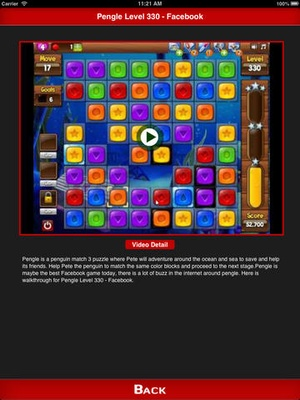 Screenshot Full Guide + Cheats for Pengle Facebook Game on iPad