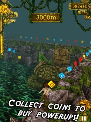 Screenshot Temple Run on iPad