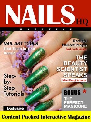 Screenshot NAILS HQ Magazine on iPad