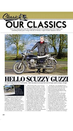 Screenshot Classic Bike Magazine on iPhone