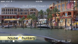 Screenshot HGTV Watch on iPhone