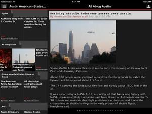 Screenshot US Newspapers Plus ( sunflowerapps ) on iPad
