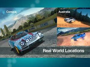 Screenshot Colin McRae Rally on iPad