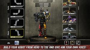 Screenshot Real Steel on iPhone