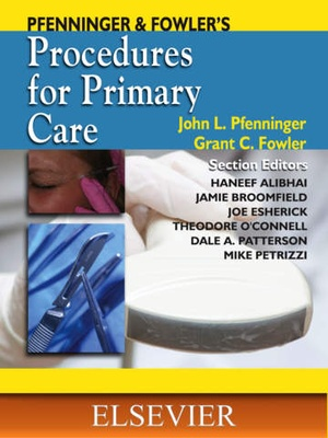 Screenshot Pfenninger and Fowler's Procedures for Primary Care on iPad