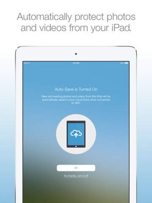 Screenshot Amazon Photos on iPad