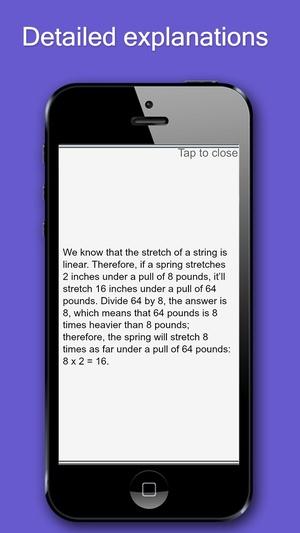 Screenshot Aptitude Test Trainer on iPhone