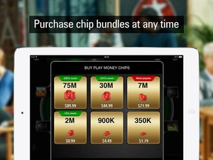Screenshot PokerStars.net Free Poker  on iPad