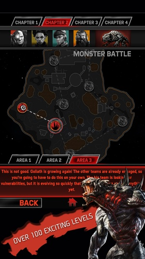 Screenshot Evolve: Hunters Quest on iPhone