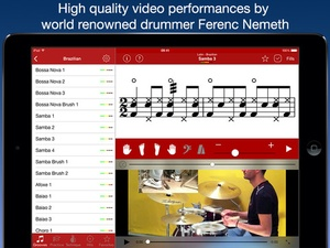 Screenshot Drum School on iPad