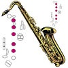Play Saxophone Tuner