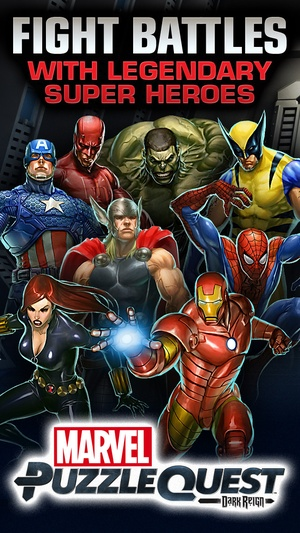 Screenshot Marvel Puzzle Quest on iPhone