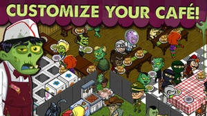 Screenshot Zombie Café on iPhone