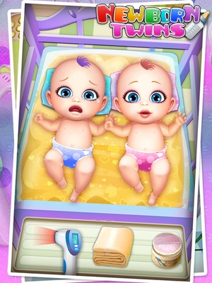 Screenshot Newborn Twins Baby Care on iPad