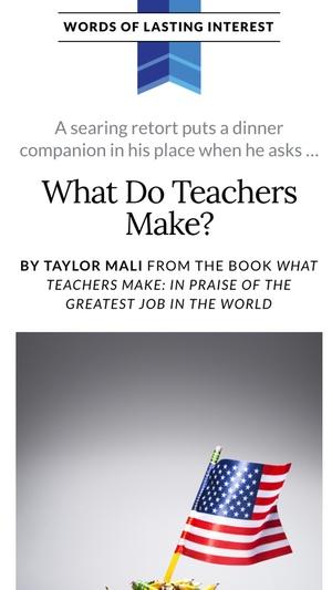 Screenshot Reader's Digest on iPhone