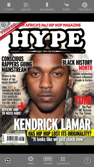 Screenshot Hype Magazine HD on iPhone