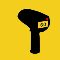 Speed gun to measure vehicle speed