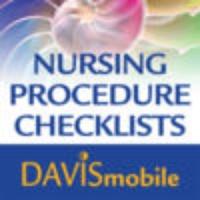 Davis Mobile Nursing Procedures Checklists for iPad