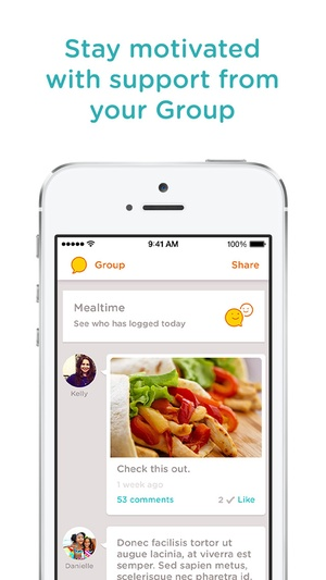 Screenshot Noom Coach: Weight Loss on iPhone