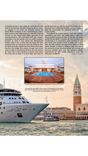 Screenshot Cruise Travel Magazine on iPhone