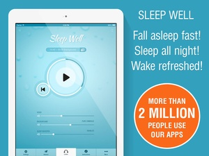 Screenshot Sleep Well Hypnosis on iPad