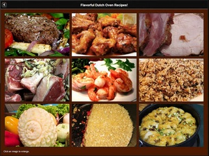 Screenshot Dutch Oven Recipes on iPad