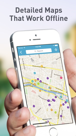 Screenshot Greece Travel Guide by Triposo featuring Athens, Thessaloniki and much more! on iPhone