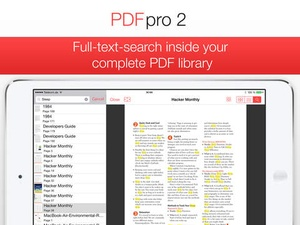 Screenshot PDF Pro 2 on iPad