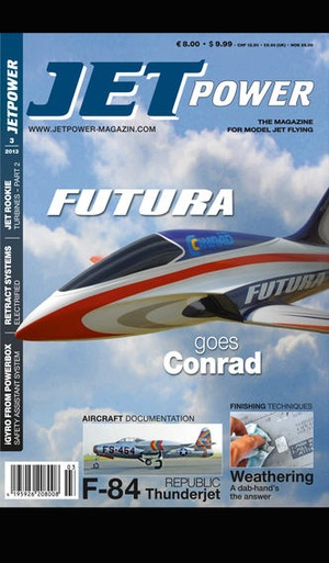 Screenshot JETPOWER MAGAZINE on iPhone