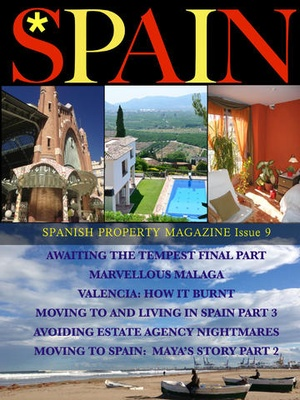 Screenshot Spanish Property Magazine on iPad